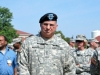 General Stultz waits to hand over the command. USAR Ft. Bragg, June 2012