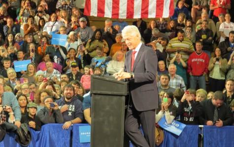 President Bill Clinton spoke….
