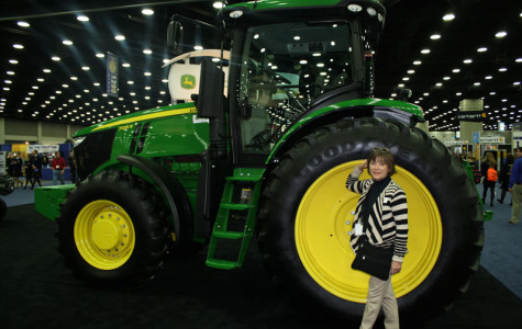 So how big is that tire?  FFA – Louisville was filled with large farm equipment!