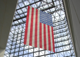 Old Glory carries us forward, year to year!
