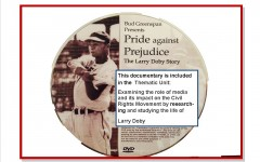 Larry Doby, Camden, SC, Baseball Legend, #2 behind Jackie Robinson – takes his place in history! (Thanks to scholars at a school in SC – read all about it here!)