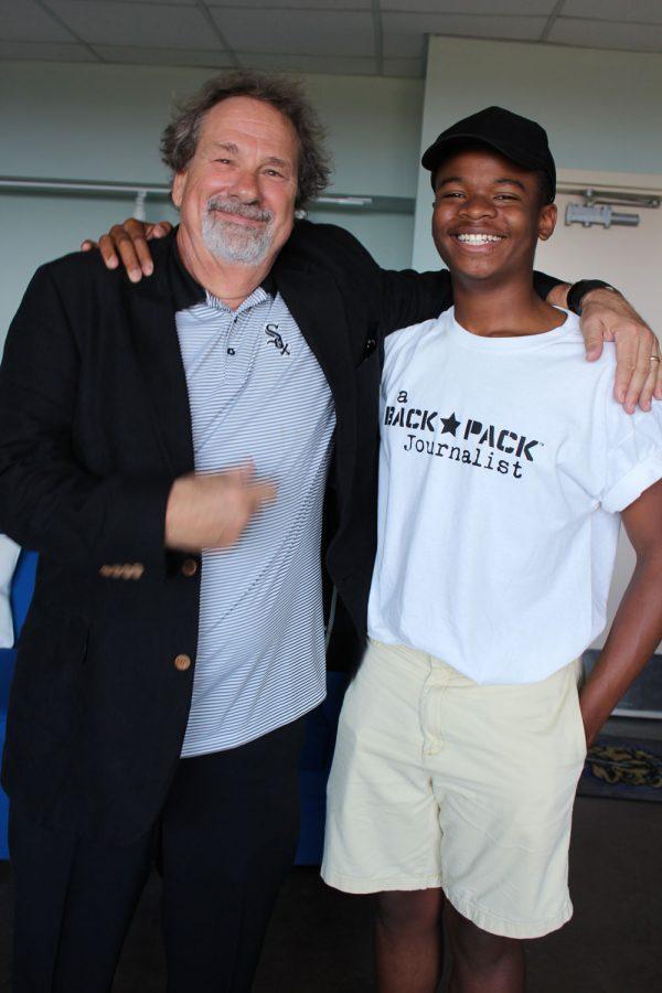 Team Backpack Journalist met with Mike Veeck!