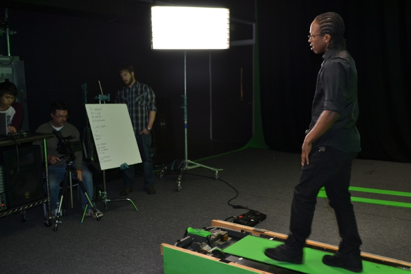 On the Set: PTSD Won\'t Stop Me: how to walk in place