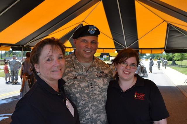 LTG Stultz at the USAR change of command