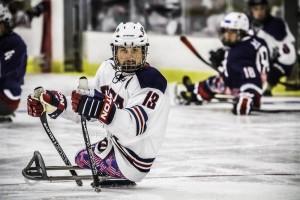 Joshua Sweeny!  Member of the San Antonio Rampage Sled Hockey Team - and member of the Olympic Paralympics Team!