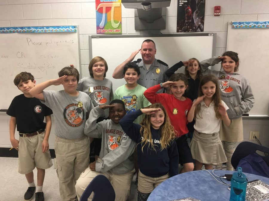 SCHP CPL Matt Southern – Educates the Backpackers!