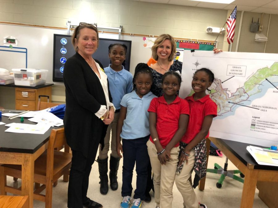 Edisto Beach Students at Jane Edwards learn!