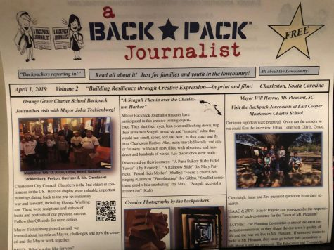 A Backpack Journalist Spring Newspaper now available!