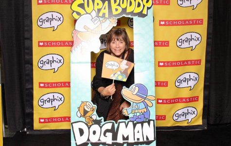 Ms. D - visits with DOG MAN!